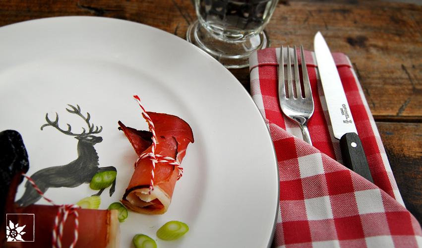 Bestecktasche Falten stoffserviette als bestecktasche falten alpen reiseblog wohlgeraten