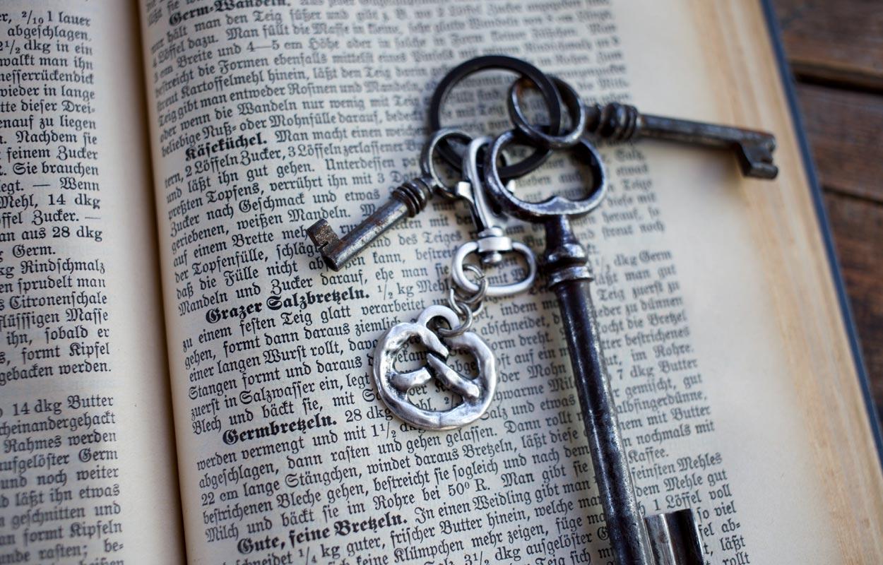 Schlüsselanhaenger Brezn - wohlgeraten.de