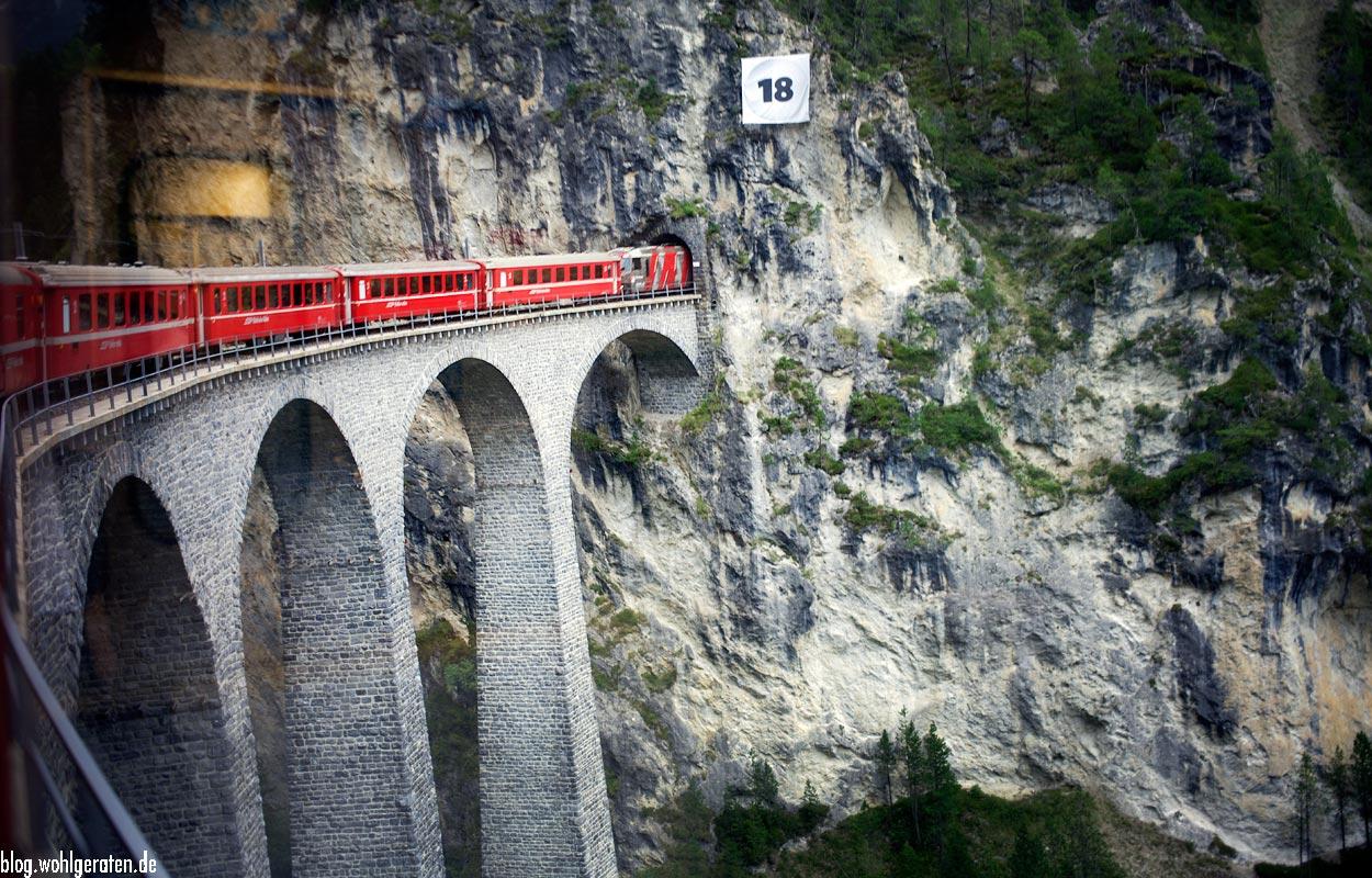 Landwasser Viadukt - Graubünden