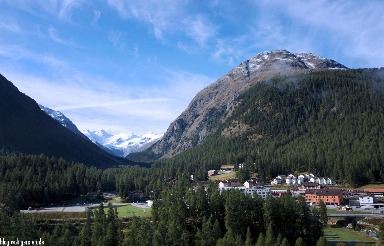 Blick ins Val Roseg